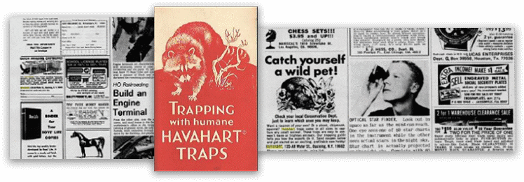 Antique Havahart Ads