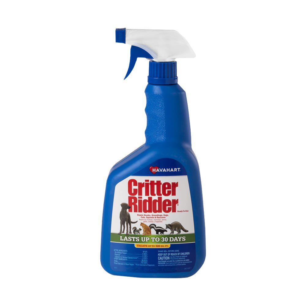 Critter Ridder<sup>®</sup> Animal Repellent Ready To Use Spray - 32 oz