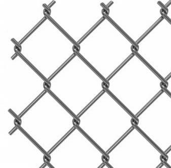 A chain-link fence