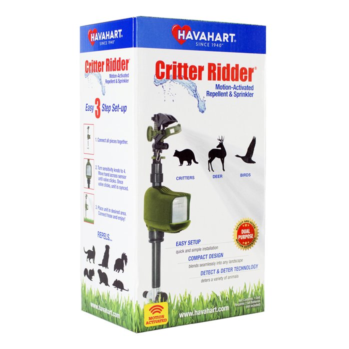 Critter Ridder Motion-Activated Animal Repellent & Sprinkler